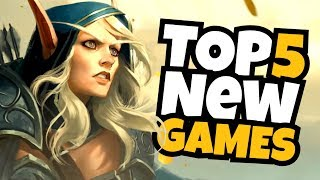 TOP 5 'NEW' Games in August 2018!