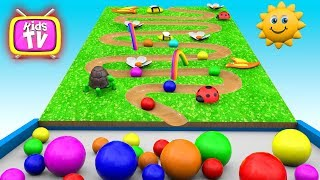 Colors Learn with toys and cars. Educational Videos - Toy Cars for KIDS