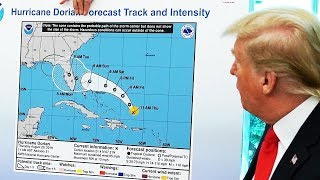 OH NO: Trump Personally Drew Sharpie Bubble on Hurricane Map