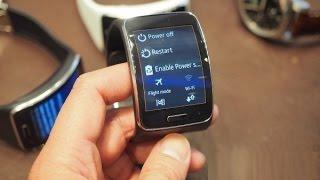مميزات ومواصفات ساعة سامسونغ samsung الجديدة المنحنية  جير اس  gear s ( الساعة الجوال)