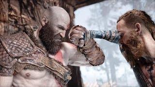 God Of War - Kratos vs. The Stranger Boss Fight