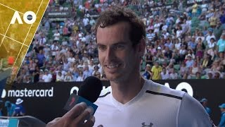Andy Murray on court interview (1R) | Australian Open 2017