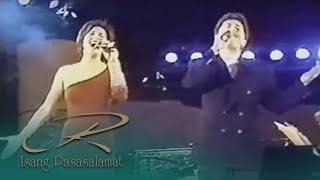Regine Velasquez and Janno Gibbs - Broadway Medley (Isang Pasasalamat 1996)