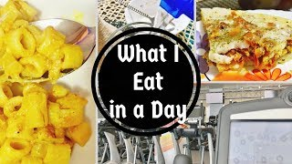 What I Eat in a Day / Vegetarian/Sandwich, Easy one-pot Sambar, Sprouts, snack, Pasta