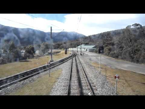 Part 1: Ski Tube Journey - Departing Bullocks Flat Terminal