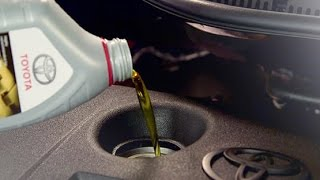 How to check oil level in your Toytota
