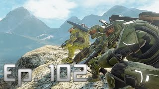 Halo 5 Funny and Lucky Moments Ep. 102