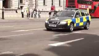 [RARE] British Transport Police - Black Volvo V70 ARV Responding