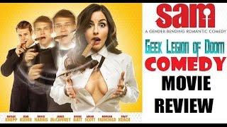 SAM ( 2016 Natalie Knepp ) Gender / Body Swap Comedy Movie Review