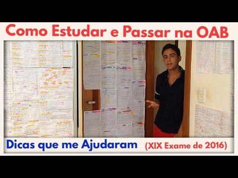 Xxx Mp4 🔴COMO ESTUDAR E PASSAR NA PROVA DA OAB DICAS PARA O XIX EXAME EM 2016 3gp Sex