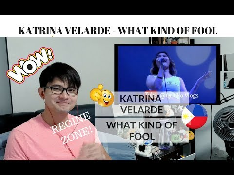 [REACTION] REGINE ZONE! Katrina Velarde - What Kind of Fool | #JANGReacts