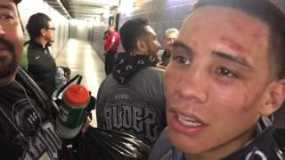 Oscar Valdez vs Miguel Marriaga después de la pelea