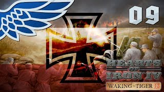 HEARTS OF IRON 4 | FRENCH INVASION PART 9 - HOI4 WAKING THE TIGER Let