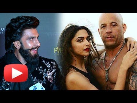 Xxx Mp4 Ranveer Singh On Deepika Padukone Vin Diesel CHEMISTRY XXx Return Of Xander Cage India Premiere 3gp Sex
