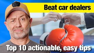 Top 10 Ways to Beat a Car Dealer | Auto Expert John Cadogan | Australia