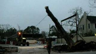 Pulling Down a Tree - A How Not To Video