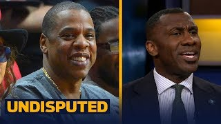 Jay Z turns down the Super Bowl Halftime Show -  Shannon and Skip speculate why | UNDISPUTED