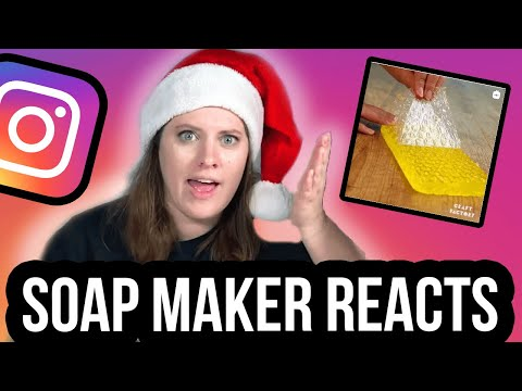 Professional Soap Maker Reacts To Instagram DIY Soap Videos Royalty Soaps