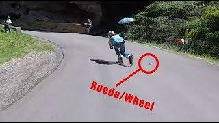 Si pierdes una rueda en pleno Downhill... ¿Qué harías?