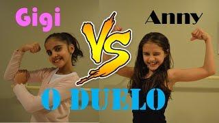 DUELO DE GINÁSTICA RÍTMICA - GIGI VS ANNY