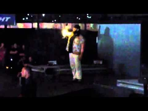Bray Wyatt entrance (WWE Live July 12, 2014 @ Madison Square Garden)