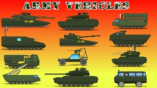 Army  Vehicles | Kids Army Vehicles