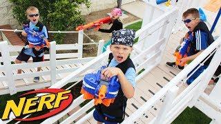 Epic Playground Nerf War