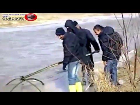 подледная рыбалка пауком