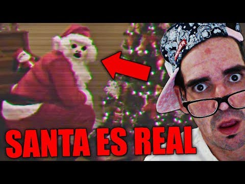 10 Santa Claus Captados En Cámara Y Vistos En La Vida Real   REACCIONANDO