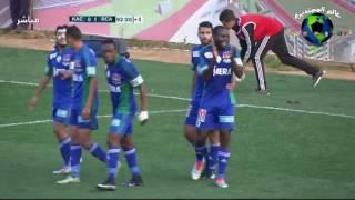 اهداف مباراة الدفاع النادي القنيطري ضد الرجاء الرياضي 0-2 الدوري المغربي 5/2/2017