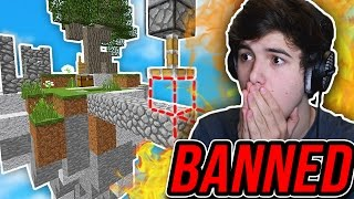Getting BANNED From HYPIXEL?.. (Minecraft SKYWARS)
