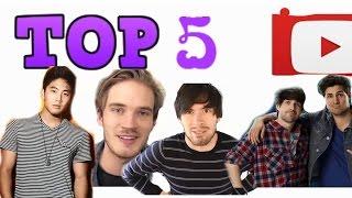 5 kênh có số lượng người đăng ký khủng nhất trên Youtube