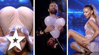 Top 3 Sexiest Auditions on Romania's Got Talent | Românii au talent 2017