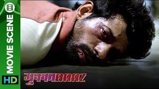 Vineet Singh & Ravi Kishan are attacked by goons | Mukkabaaz
