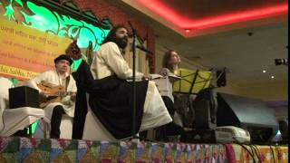 Punjabi Sahit Sabha New York, Nawaz Doga Singing at Celebration of Vaisakhi April 18, 2014