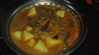 dalma (without onion and garlic) recipe