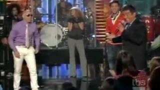 Enrique Iglesias feat Pitbull I Like it Live on Lopez Tonight 07&22&2010.