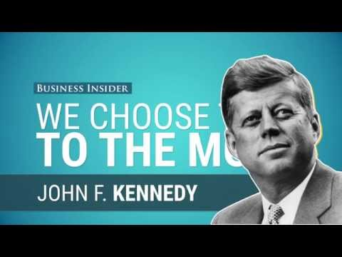 JFK's moonshot speech is still one of the most inspiring speeches ever delivered by a president