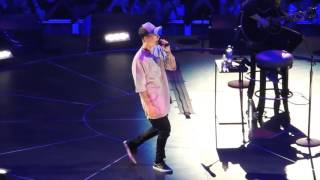 "Justin Bieber ""Sorry"" Staples Center Nov.13, 2015"
