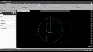 Mastercam 2017 Tutorial #2: geometry, attributes, color, level, quickmask