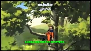 Naruto Opening 1- ROCKS  (Sub Español)