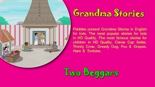 Two Beggars | Grandma Stories | Dadima Ki Kahaniya | Popular Hindi Stories for Kids