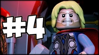 LEGO MARVEL'S AVENGERS - Part 4 - Thor has Landed!