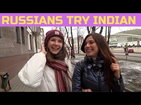 Xxx Mp4 Russian Girls Try Indian Food For The First Time 🇮🇳 3gp Sex