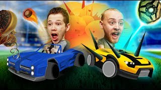 DEMOLITION DERBY! | Rocket League Lan Party [Ep 2]