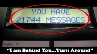 5 Unexplained Voicemail Which Sparked Unsolved Mysteries...