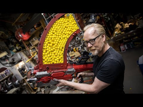 Adam Savage s One Day Builds 1000 Shot NERF Blaster