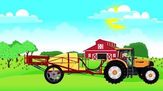 ☻ Fairy Tractors | Farm Work - Harvest of colza | Traktory, praca na Farmie - Zbiór Rzepaku ☻