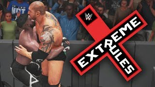 WWE 2K18 My Career Mode - Ep 109 - EXTREME RULES UNIVERSAL TITLE DEFENSE!!