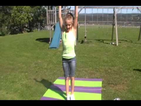 Gymnastics Abby Emma Julia and Becky